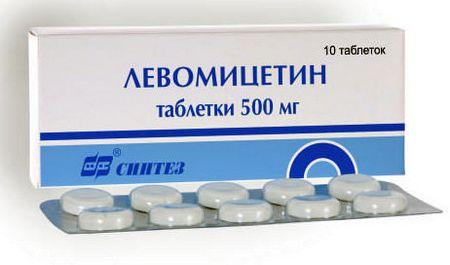 Що робить з прищами левоміцетин: за і проти