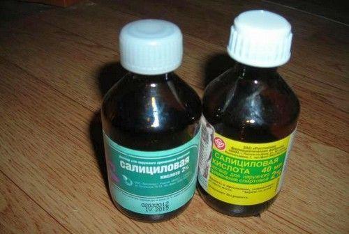 Як застосовувати саліцилову кислоту від прищів