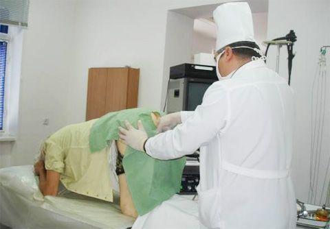 Процедура при геморої