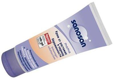 Популярний крем від розтяжок саносан: як зберегти молодість шкіри